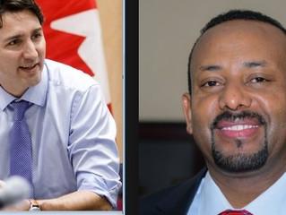 Prime Minister Justin Trudeau intends to visit Ethiopia