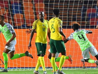 Nigeria Scores Last Minute Winner to reach Afcon Semi-Final