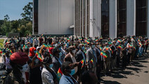 Ethiopians on streets to hail armed forces