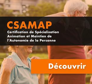 Certificat de spécialisation Animation et Maintien de l'Autonomie des Personnes