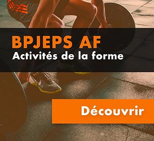 BPJEPS Activité de la Forme