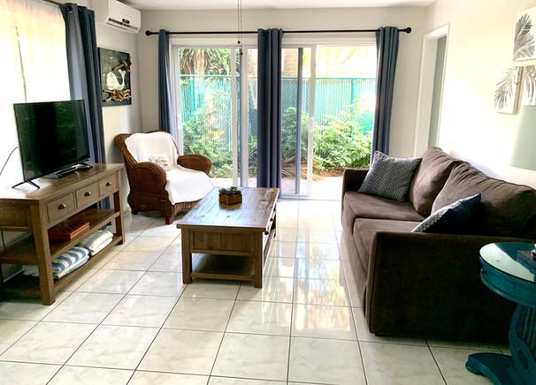 Sea Blue Room 5 Living Room