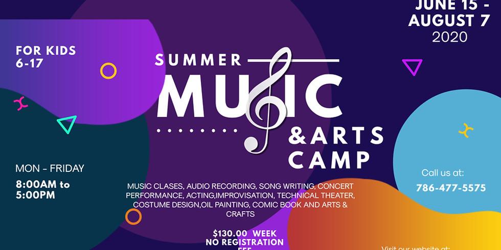 Music & Art Summer Camp