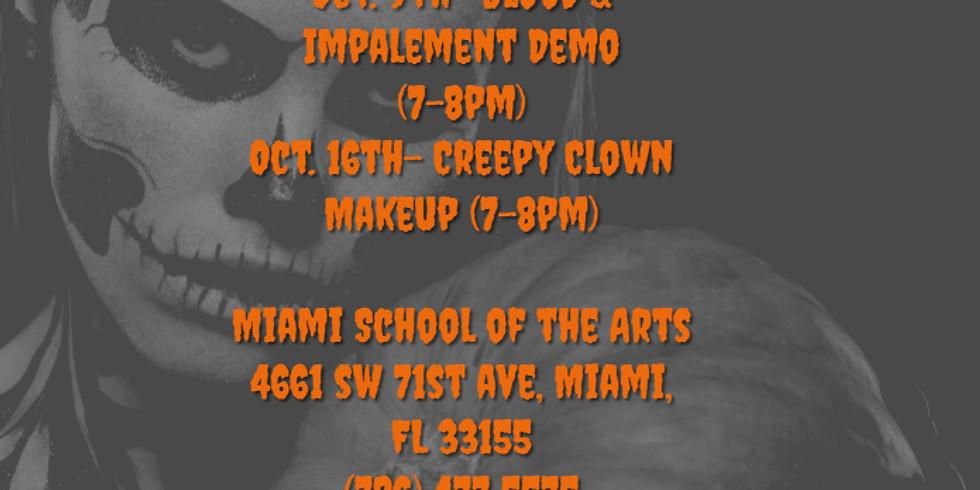 Halloween Makeup Clinics