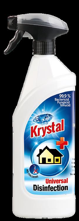 Krystal univerzálna dezinfekcia 750ml.