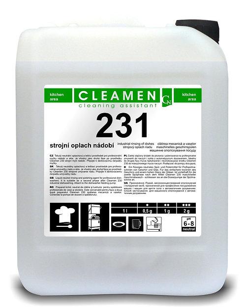 CLEAMEN 231 STROJOVÉ OPLÁCHNUTIE RIADU