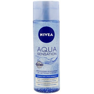 Nivea Aqua Sensation čistiaci gél na tvár 200 ml