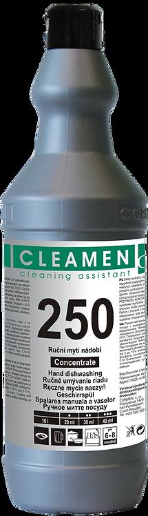 CLEAMEN 250 ručné umývanie riadu KONCENTRÁT