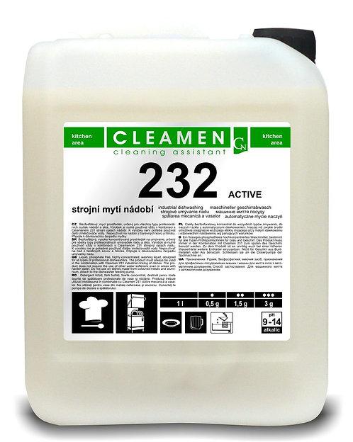 CLEAMEN 232 Strojové umývanie riadu ACTIVE