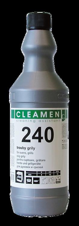 CLEAMEN 240 NA RÚRY, GRILY, KRBOVÉ SKLÁ