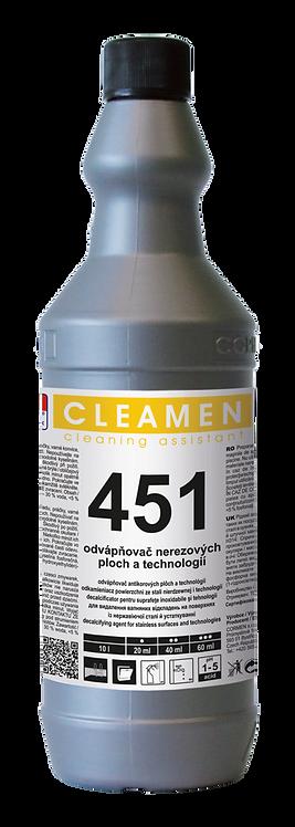 1l CLEAMEN 451 ODVÁPŇOVAČ antikorovýCh plôch A Technology