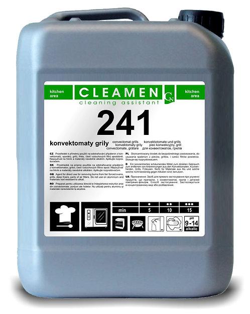 CLEAMEN 241 konvektomat, GRILY