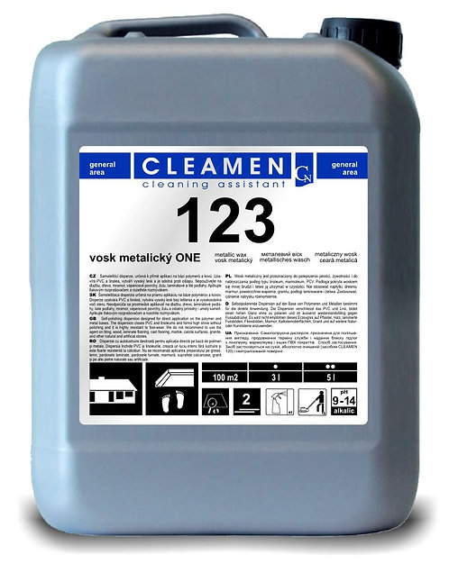 CLEAMEN 123 METALICKÝ VOSK ONE