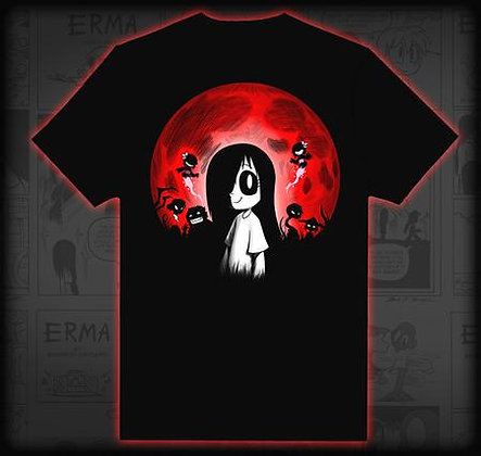 Erma Red Moon T-Shirt