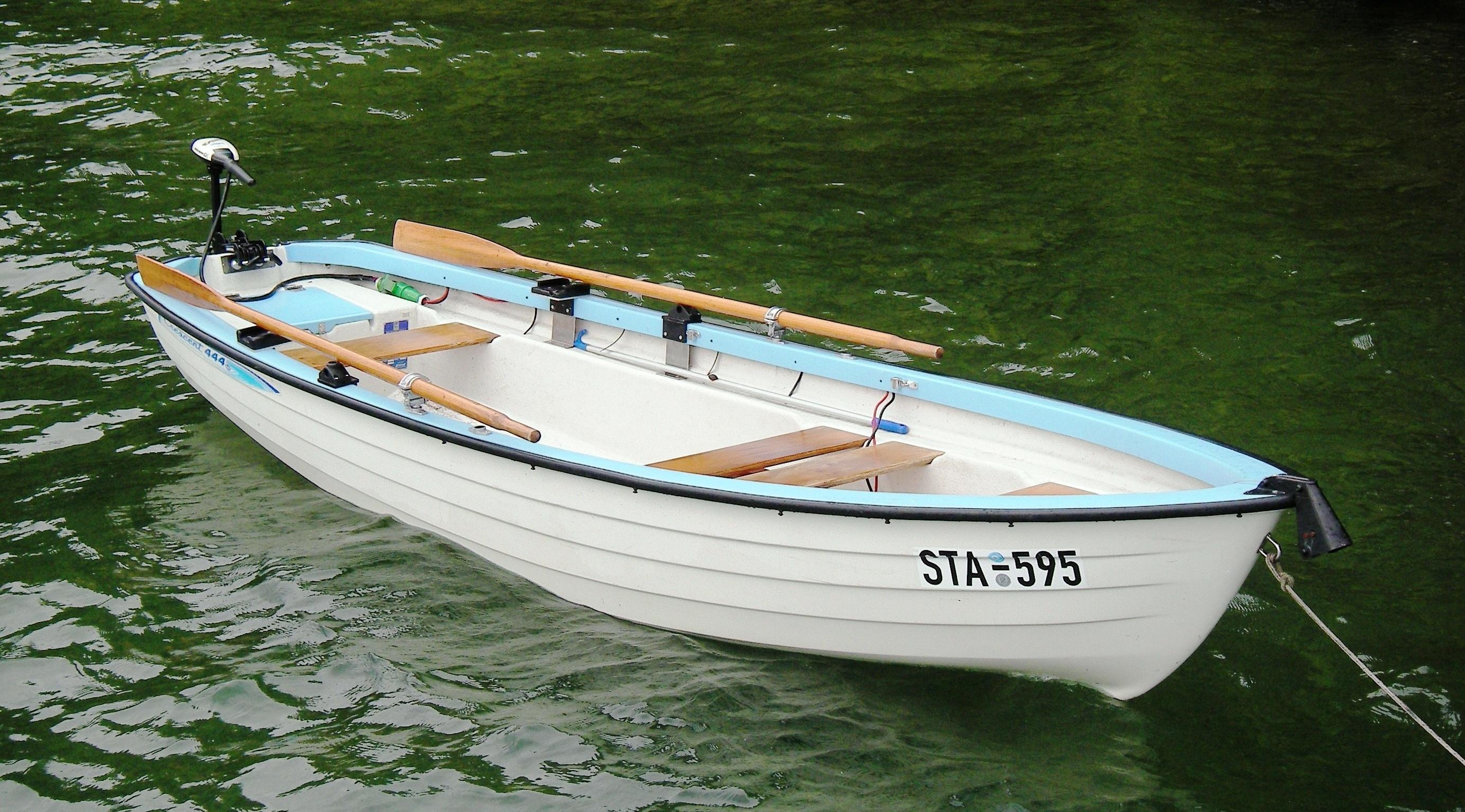 Elektroboot für Angler