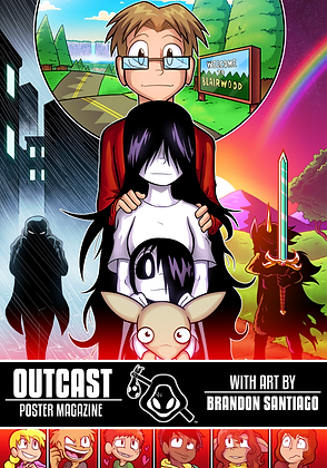 Outcast Poster Book