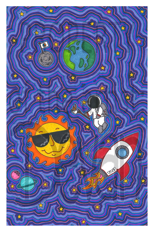Space S'mores 11x17