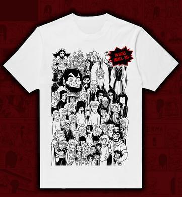 The Outcasts Cast T-Shirt