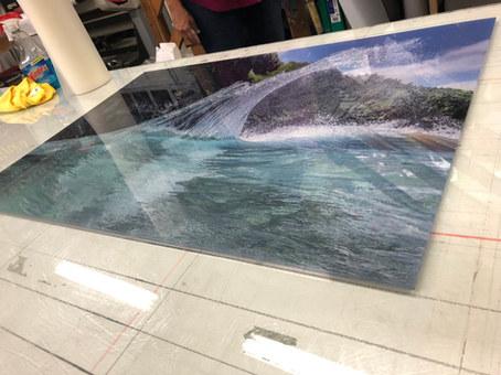 Acrylic Metal Print (White Paper)