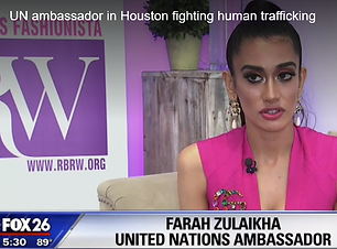 UN Ambassador in Houston fighting human trafficking