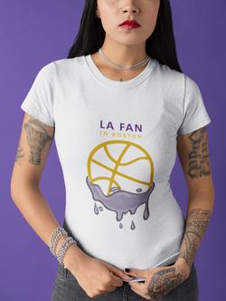 LA Fan in Boston White
