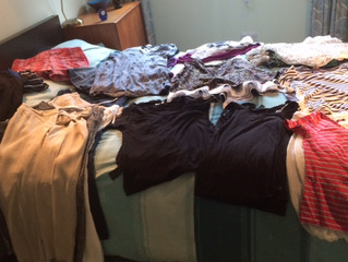 Time for a seasonal clothes declutter?