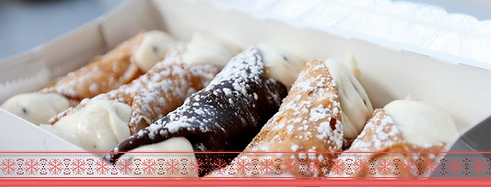 Order your cannoli box for Christmasy.pn