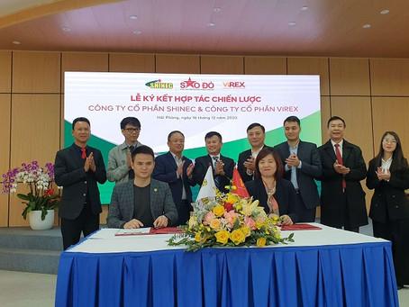 Shinec và Alphanam Group hợp tác chiến lược