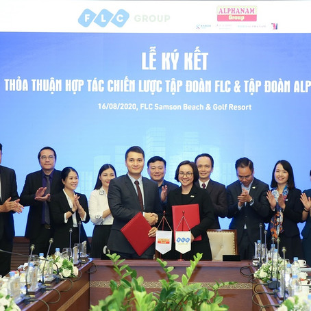 FLC và Alphanam hợp tác chiến lược: Cảm hứng lớn cho CLB Sao Đỏ