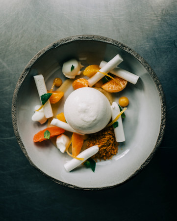 Dessert aux agrumes