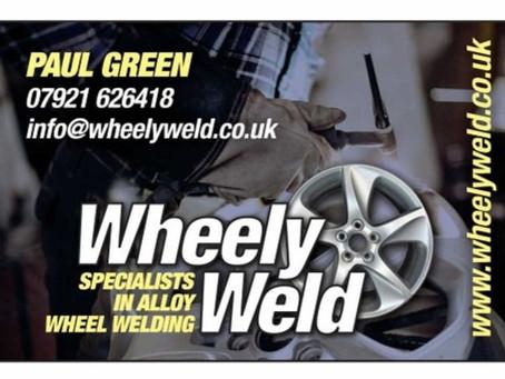 Alloy wheel welding