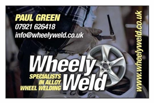 wheely weld crack repair