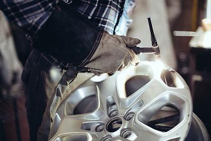 Alloy wheely welding Milton Keynes
