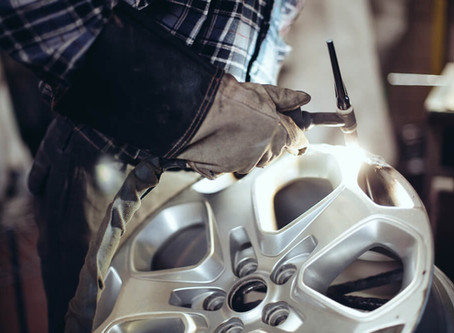 Cracked a wheel no problem Wheely weld can sort it, Free quotations.