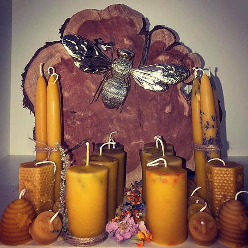 Hive to Home - Pure Beeswax Candles