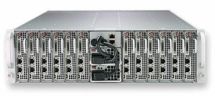 NCS Supermicro MicroCloud solutions 5039MD8-H8TNR, 5039MD18-H8TNR, 5039MA16-H12RFT, 539MA8-H12RFT, 5039MS-H8TRF, 5039MS-H12TRF, 12-modular-nodes