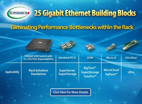 Supermicro 25 Gigabit Ethernet