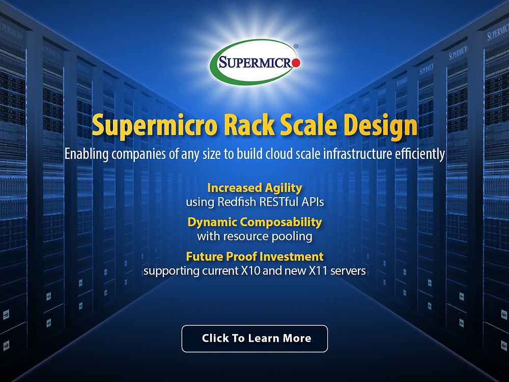 We provide a complete rack solution built on its highly optimized server and storage building blocks in standard racks