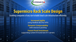 Supermicro RSD (Rack Scale Design) Solutions