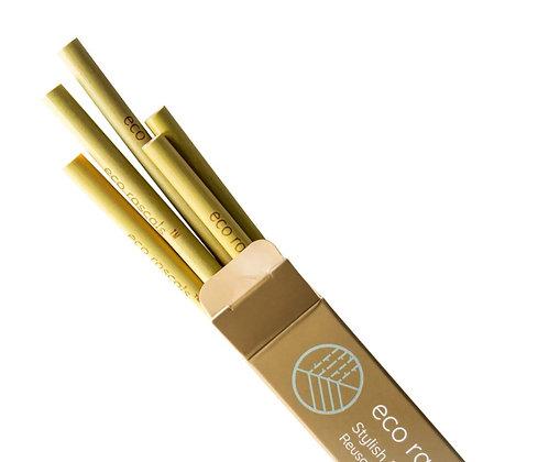 5 Pack Bamboo Straws