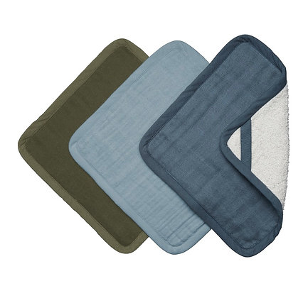 Wash clothes - Costal (3 Pack)