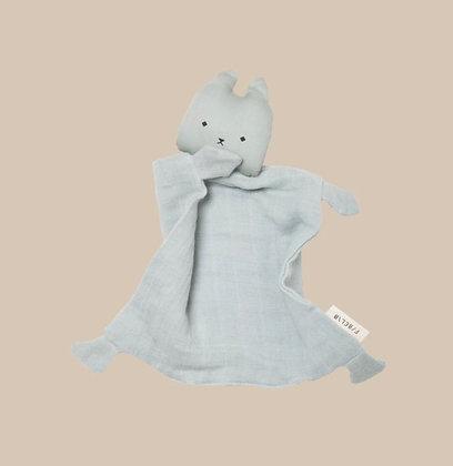 Animal Cuddle - Cat - Foggy Blue