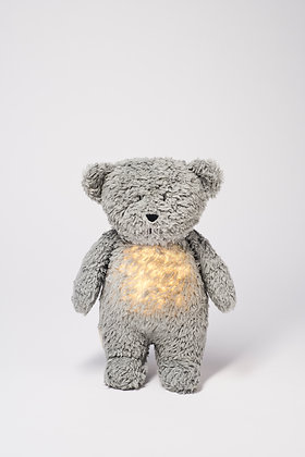 Moonie - Humming Friend Bear Nightlight - Mineral Grey