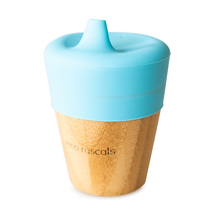 Bamboo Sippy Cup - Blue