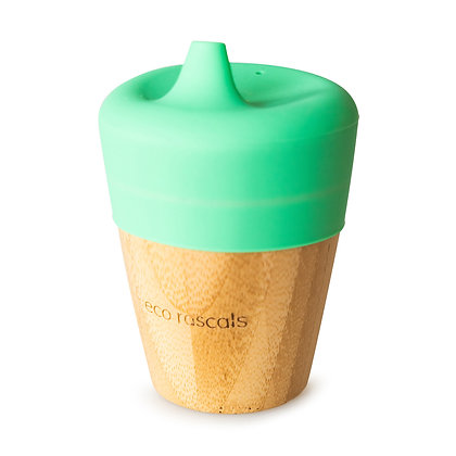 Bamboo Sippy Cup - Green