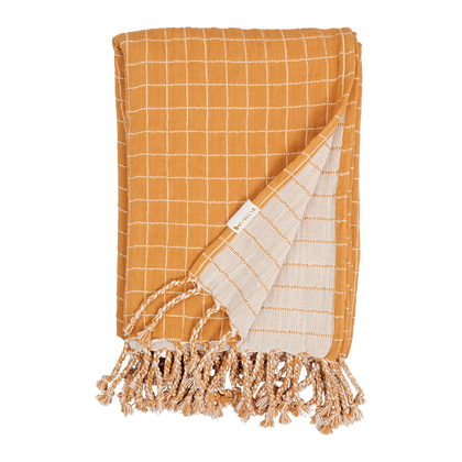 Baby Blanket - Ochre