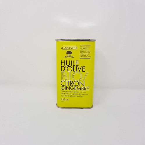 Huile d'Olive Bio Citron Gimgembre