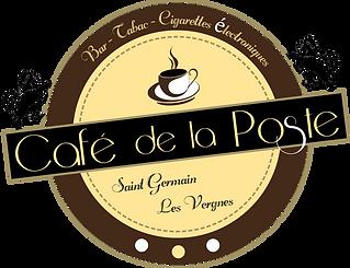 LOGO DU CAFE DE LA POSTE DE SAINT GERMAI