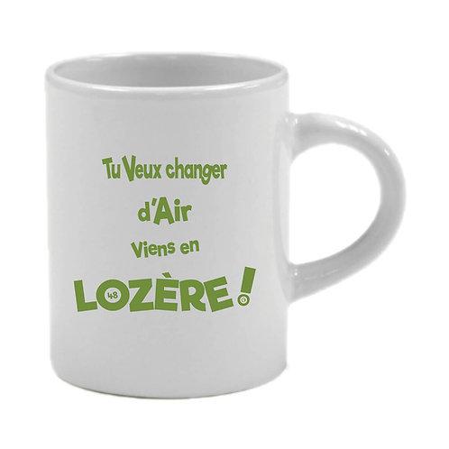 6 TASSES A CAFÉ - LOZERE - VERT
