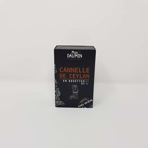 Epices Cannelle de Ceylan en Dosettes
